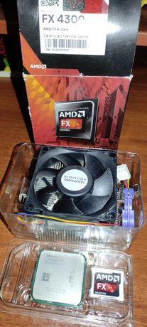 Продам процессорAMD FX-4300 3.8 Ghz, AM3+ , 95 Вт.