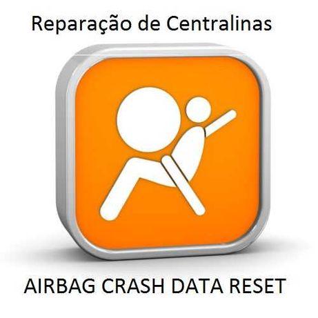 Centralinas Airbag - reparações - Crash Data Reset