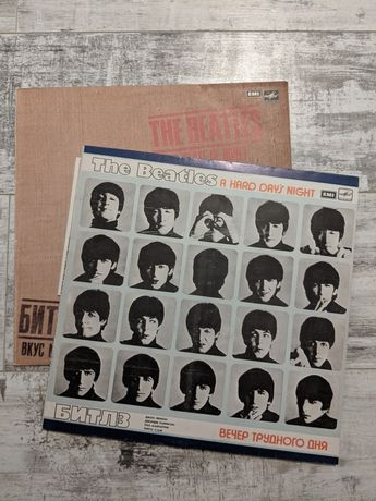 The Beatles / Битлз - A Hard Day's Night / Вечер трудного дня