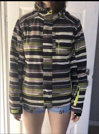 Лыжная демисезонная подростковая куртка унисекс