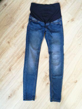Spodnie ciążowe H&M MAMA slim rozmiar 38 stan idealny + gratis