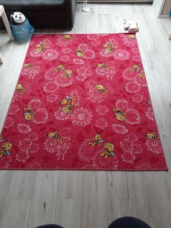 Dywan dla dziewczynki róż 150x200 cm