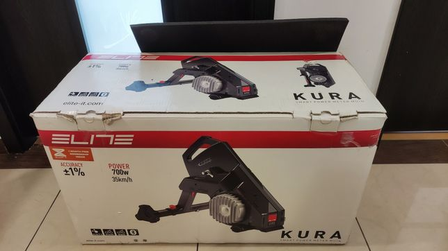 Trenażer rowerowy ELITE KURA ANT+ Bluetoooth Smart z pomiarem
