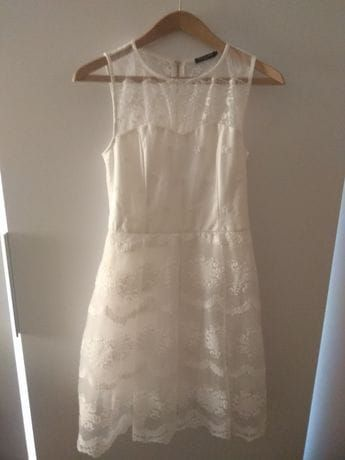 Sukienka koronkowa, wesele, drugi dzień