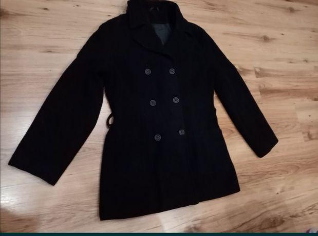 Płaszczyk, czarny płaszcz