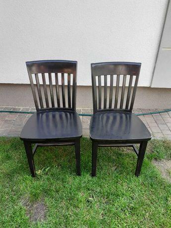 Krzesła drewmiane