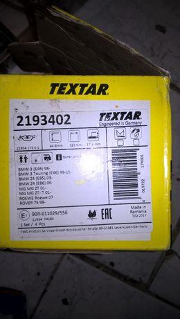Urządzenia: Klocki: TexTar/ATE saab, calibra, zafira, BMW, MG, Rover