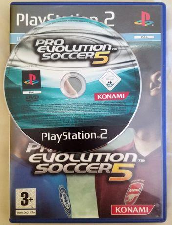 Jogo PES 5 para PS2 (bom preço)