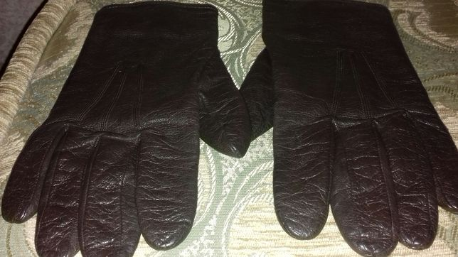 Мужские кожаные перчатки Galantex pirot
