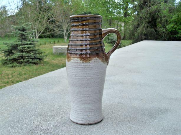 Ceramika wazon sygnowany 28 cm Fat-Lava