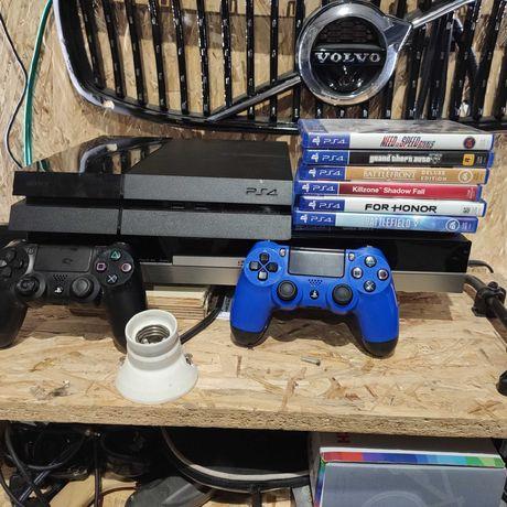 Konsola Sony PlayStation 4 500GB plus gry