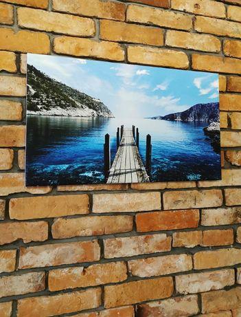 Obraz na płótnie Pomost 70x40cm - Premium