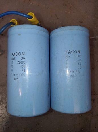 Condensadores electrolítico 22000uF