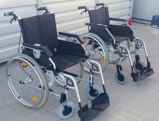 Wózek inwalidzki zwykły składany tradycyjny duży wybór mocny zadbany