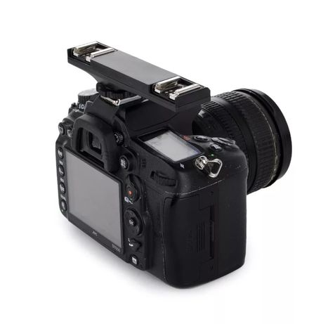 Adapter ,podwójna gorąca stopka do aparatów fotograficznych Nikon.