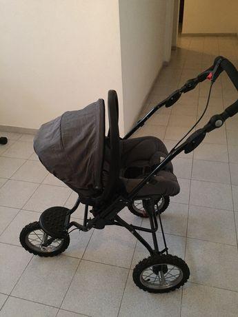 Carro de passeio e ovo Bebé Confort