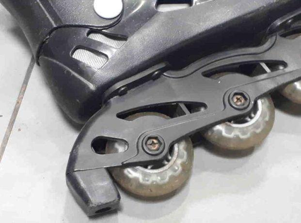 Ролики 39-41, силиконовые колеса