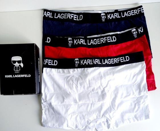 Bokserki KARL LAGERFELD m - l - xl - xxl 3szt/=39 zł.