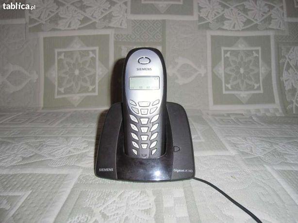 Siemens Gigaset A140 telefon bezprzewodowy baza
