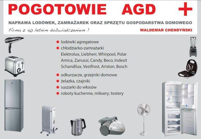Pogotowie AGD. Naprawa Serwis lodówek, zamrażarek oraz sprzętu AGD