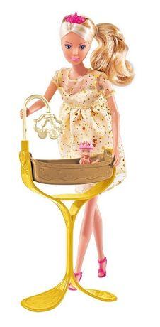 БЕСПЛ.ДОСТАВКА Кукла Штеффи Беременная с люлькой Steffi 5737084 Simba