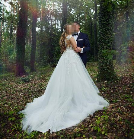 Suknia ślubna model Pronovias San Patrick White One Felicidad