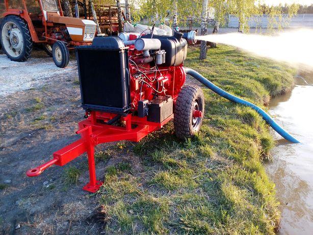 Pompa do wody motopompa deszczownia