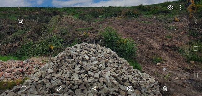 Kostka kamienna granitowa