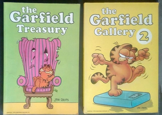 the treasury garfield / jim davis