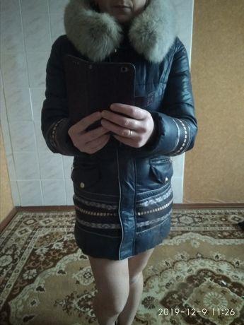 Пуховик зимова куртка