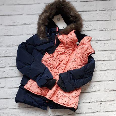 Зимняя куртка с жилеткой