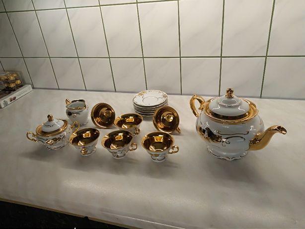okazjonalny komplet porcelany 5 częściowy