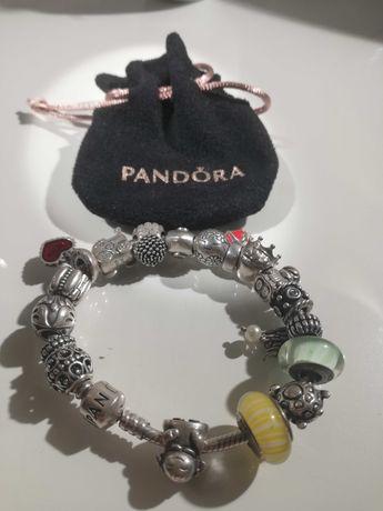 Pulseira Pandora + Contas