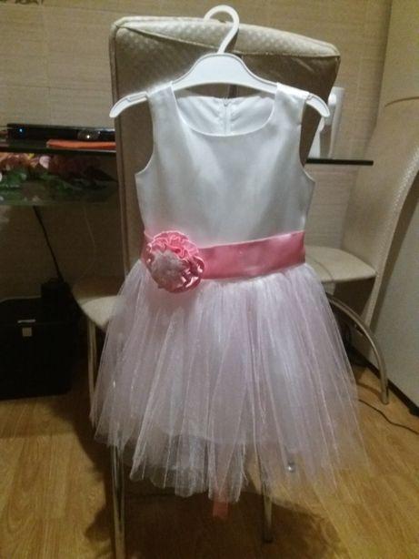 Плаття платье новогоднее принцесса фея снежинка