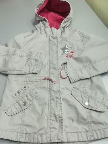 Курточка на дівчинку р. 116