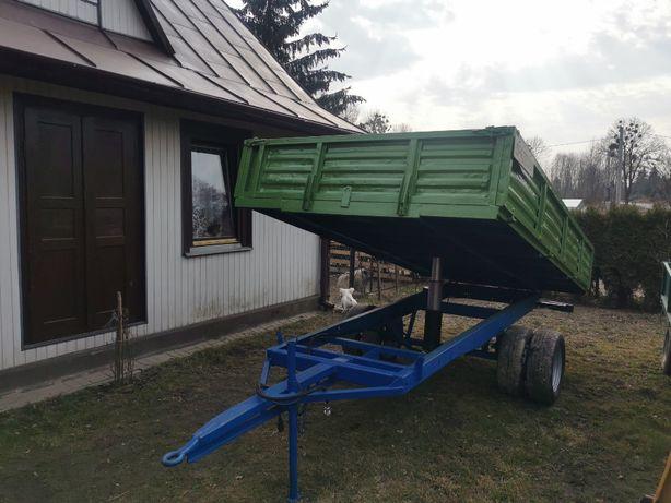 Przyczepa jednoosiowa 5t 5 ton wywrotka Iveco Liaz