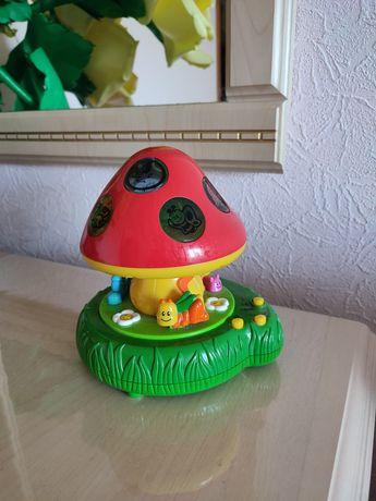 Настольная лампа детский настольный светильник музыка свет Цена 100гр