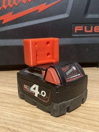 Mocowanie bateria milwaukee m18