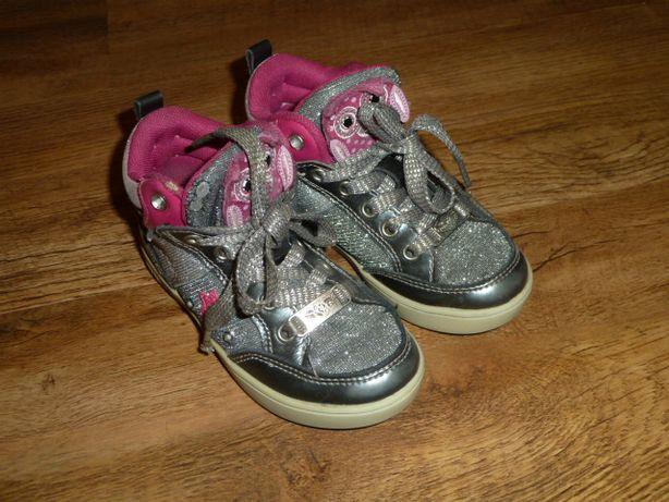 Lelli Kelly Высокие кроссовки, ботинки , р 25, стелька 16,8 см , мигаю