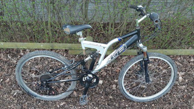 Rower z amortyzatorami koła 24cale hamulec tarczowy dla młodzieży