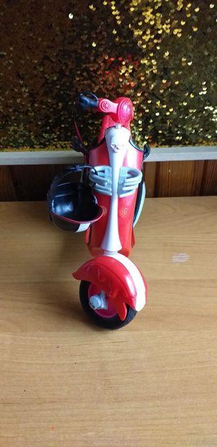 Lalka Monster High/ skuter/motor
