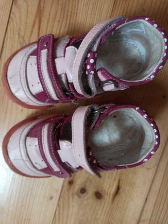 Buty skórzane Bartek dka dziewczynki. Rozmiar 23