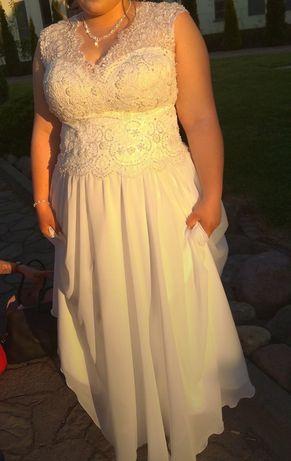 Suknia ślubna rozmiar 44-52max