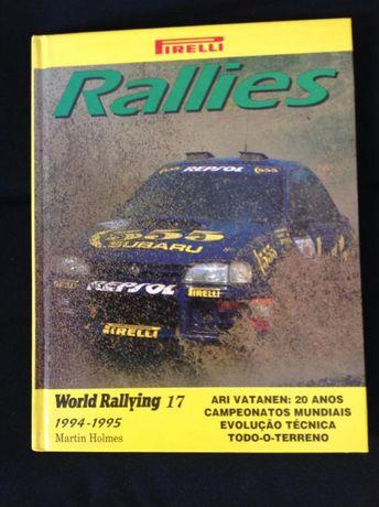 Livro Rallies 1994 edição talento rali rally