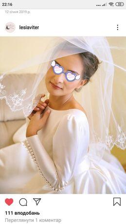 Весільне плаття.Чудове, елегантне. Шите ідентичне до того що на фото