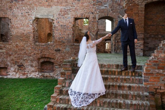 Suknia ślubna ślub wesele