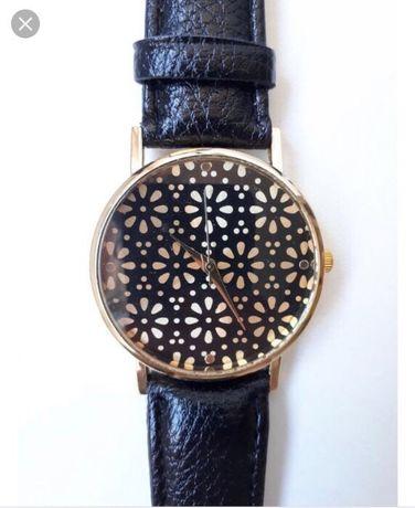 Zegarek House nowy! Czarny pasek, złote elementy