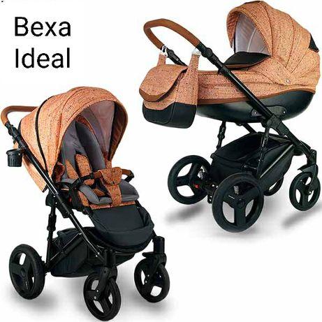 Универсальная коляска 2в1 Bexa Ideal польская детская коляска 2в1
