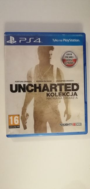 Uncharted kolekcja Nathana Drake a PL PS4