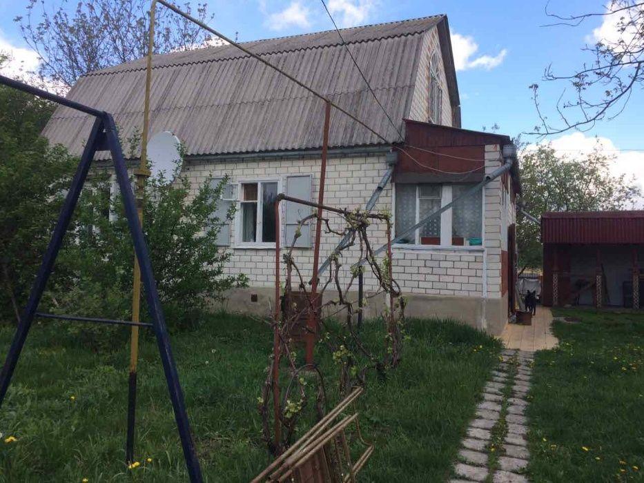 Дом с удобствами 2-х этажный, 50+ соток земли, меняю на пай Кегичівка - зображення 1